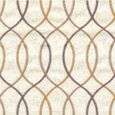 Ivory/Gold/Grey Modern Drapery and Upholstery Fabric by Kravet