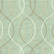 Light Blue/Taupe/White Modern Drapery and Upholstery Fabric by Kravet