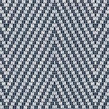 Indigo Herringbone Drapery and Upholstery Fabric by Kravet