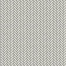 Black Geometric Drapery and Upholstery Fabric by Kravet