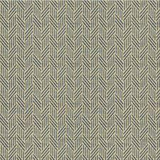 Blue/Light Blue/Beige Geometric Drapery and Upholstery Fabric by Kravet