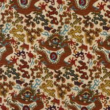 Beige/Multi Asian Drapery and Upholstery Fabric by Kravet