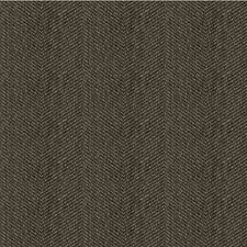 Charcoal/Black/Grey Herringbone Drapery and Upholstery Fabric by Kravet
