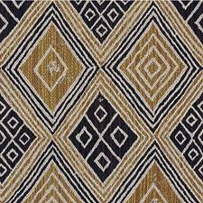 Beige/Brown/Gold Diamond Drapery and Upholstery Fabric by Kravet