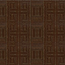 Chocolate/Brown/Beige Global Drapery and Upholstery Fabric by Kravet