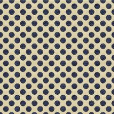 Navy Dots Drapery and Upholstery Fabric by Kravet