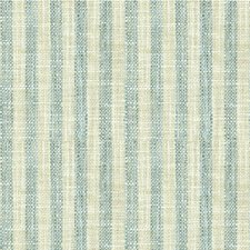 Light Blue/Beige Stripes Drapery and Upholstery Fabric by Kravet