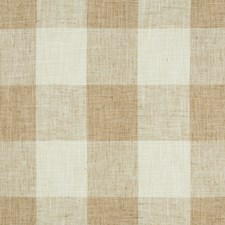 Beige/Ivory Check Drapery and Upholstery Fabric by Kravet