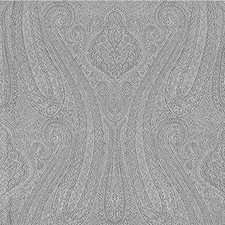 Slate Paisley Drapery and Upholstery Fabric by Kravet