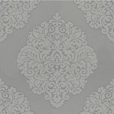 Smoke Damask Drapery and Upholstery Fabric by Kravet
