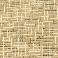 Gold Geometric Drapery and Upholstery Fabric by Kravet