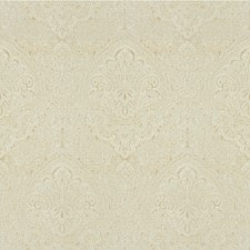 Cream Damask Drapery and Upholstery Fabric by Kravet
