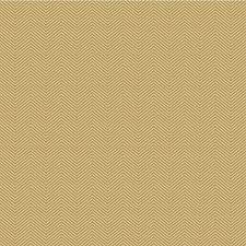 Gold/Beige Herringbone Drapery and Upholstery Fabric by Kravet