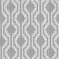 Pewter Geometric Drapery and Upholstery Fabric by Kravet