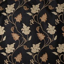 Black Jacquard Pattern Drapery and Upholstery Fabric by Fabricut