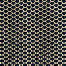 Beige/Indigo Dots Drapery and Upholstery Fabric by Kravet
