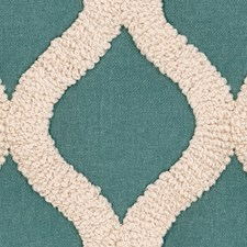 Blue/Beige Contemporary Drapery and Upholstery Fabric by Kravet