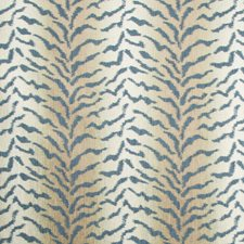 Blue/Ivory/Beige Texture Drapery and Upholstery Fabric by Kravet