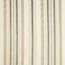 Ivory/Grey/Brown Stripes Drapery and Upholstery Fabric by Kravet
