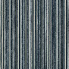 Blue/Dark Blue/Light Grey Stripes Drapery and Upholstery Fabric by Kravet
