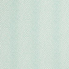 White/Turquoise Animal Drapery and Upholstery Fabric by Kravet