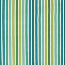 Blue/Emerald/Green Stripes Drapery and Upholstery Fabric by Kravet