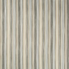 Grey/Beige/White Stripes Drapery and Upholstery Fabric by Kravet