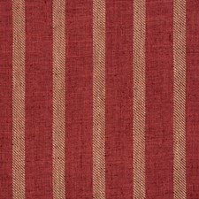 Red/Beige Stripes Drapery and Upholstery Fabric by Kravet