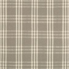 Grey/Ivory Plaid Drapery and Upholstery Fabric by Kravet