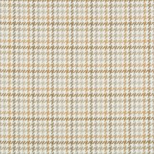 White/Beige/Grey Check Drapery and Upholstery Fabric by Kravet