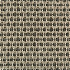 Charcoal/Grey/Black Geometric Drapery and Upholstery Fabric by Kravet