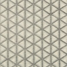 Ivory/Light Grey/Grey Geometric Drapery and Upholstery Fabric by Kravet