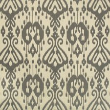 Grey/Beige Ikat Drapery and Upholstery Fabric by Kravet