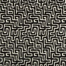 Black/Charcoal Modern Drapery and Upholstery Fabric by Kravet