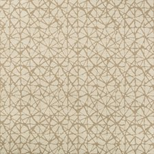 Beige/Wheat Geometric Drapery and Upholstery Fabric by Kravet