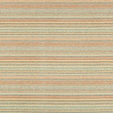 Turquoise/Orange/Grey Stripes Drapery and Upholstery Fabric by Kravet