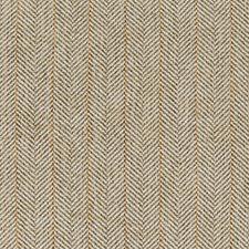 Grey/White/Rust Herringbone Drapery and Upholstery Fabric by Kravet