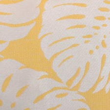 Mustard Floral Large Drapery and Upholstery Fabric by Duralee