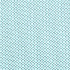Aqua Small Scale Drapery and Upholstery Fabric by Duralee