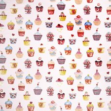 Strawberry Juvenile Drapery and Upholstery Fabric by Fabricut