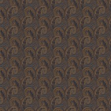 Navy Paisley Drapery and Upholstery Fabric by Fabricut