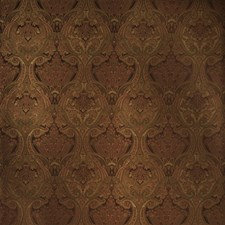 Merlot Paisley Drapery and Upholstery Fabric by Fabricut