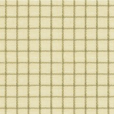 Beige/Grey Check Drapery and Upholstery Fabric by Kravet