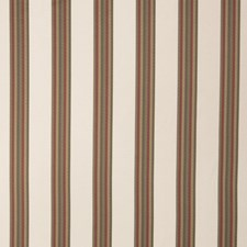 Coral Stripes Drapery and Upholstery Fabric by Fabricut