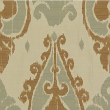 Grey/Beige Ethnic Drapery and Upholstery Fabric by Kravet