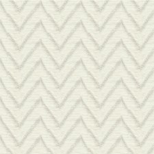 Ivory Flamestitch Drapery and Upholstery Fabric by Kravet