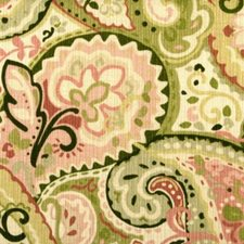 Kiwi/pink Drapery and Upholstery Fabric by Duralee