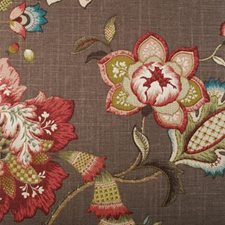 Auburn Botanical Drapery and Upholstery Fabric by Duralee