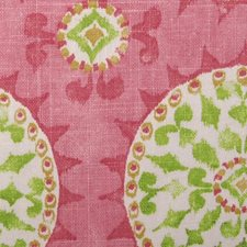 Pink/green Drapery and Upholstery Fabric by Duralee