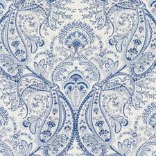 Ocean Paisley Drapery and Upholstery Fabric by Duralee